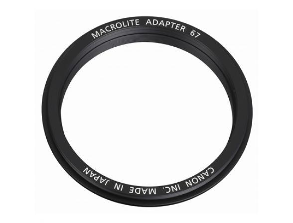 Адаптер Canon MacroLite Adapter 67C