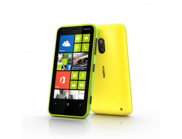 Смартфон Nokia Lumia 620 Yellow