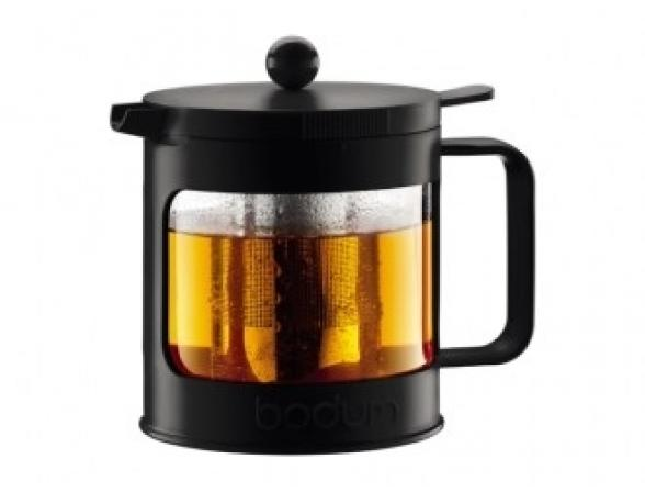 Чайник заварочный c прессом BODUM Bean 1.0л