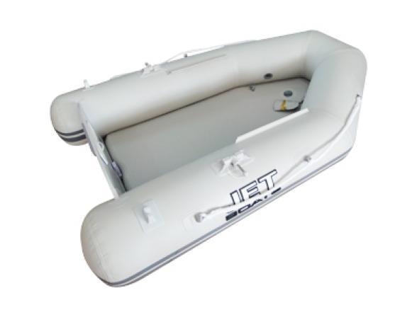Лодка надувная JET! NORFOLK 260 AM, цвет серый
