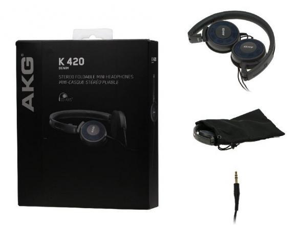 Наушники AKG K420 DENIM