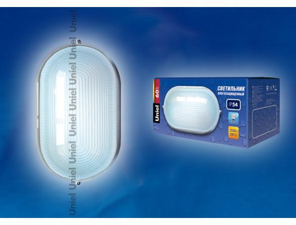 Светильник пылевлагозащищенный Uniel UWL-O-01-060-White