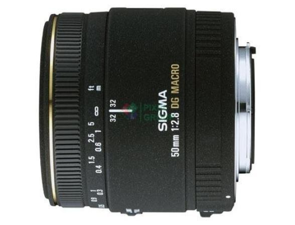 Объектив Sigma AF 50mm f/2.8 EX DG MACRO Canon*