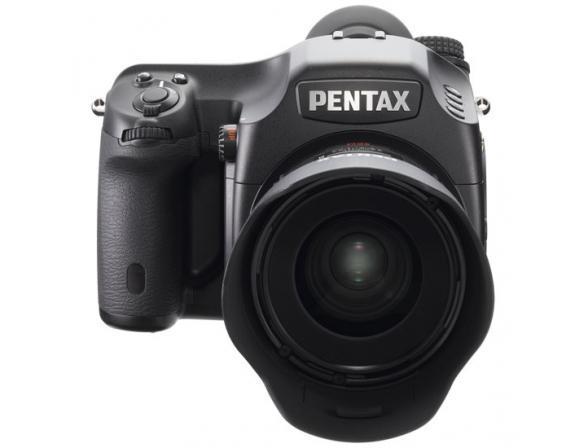 Зеркальный фотоаппарат Pentax 645D Kit D FA645 55 mm