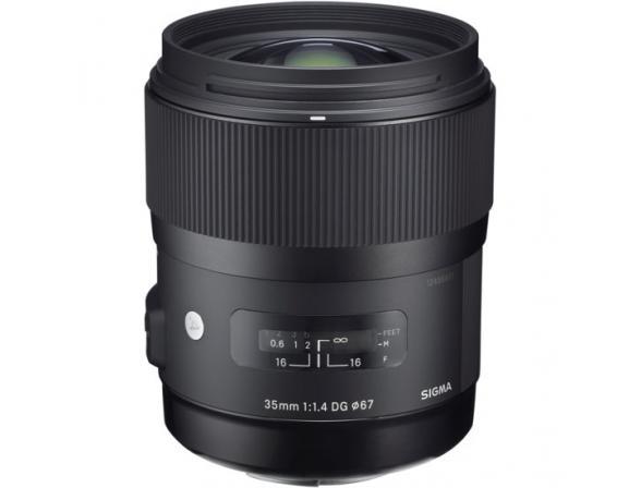 Объектив Sigma AF 35mm f/1.4 DG HSM Canon EF