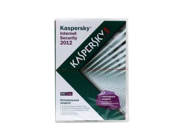 Kaspersky Internet Security 2012 Russian Edition. 5-Desktop 1 year Base DVD box (KL1843RXEFS)