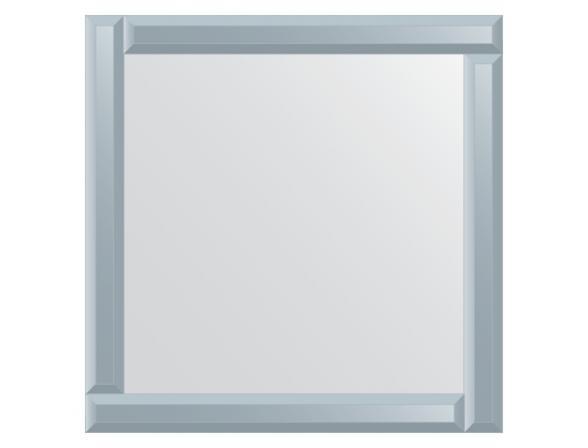 Зеркало с зеркальным обрамлением EVOFORM Style (60х60 см) BY 0829