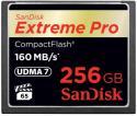 Флэш память SanDisk 256 Gb CompactFlash  Extreme Pro