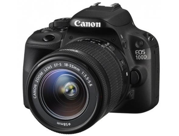 Зеркальный фотоаппарат Canon EOS 100D Kit 18-55 IS II