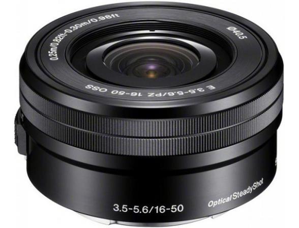 Объектив Sony SEL-P1650 16-50 mm F/3.5-5.6 E OSS for NEX