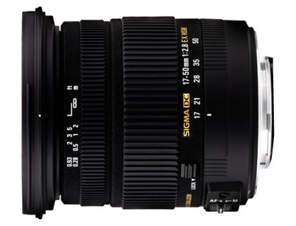 Объектив Sigma AF 17-50mm f/2.8 EX DC HSM SONY