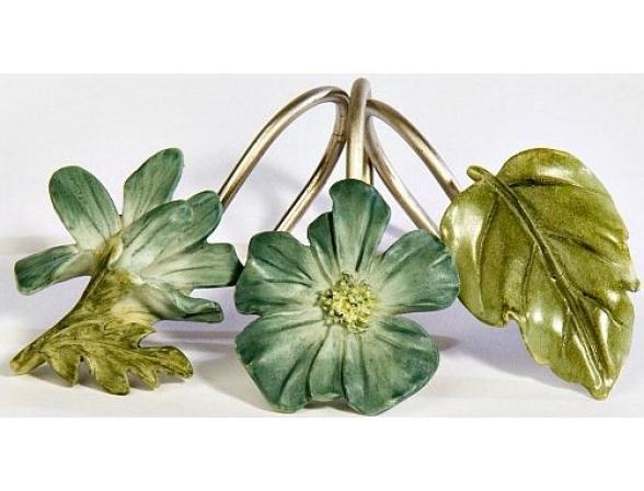 Набор из 12 крючков для шторки CROSCILL Spa Leaf 6A0-062O0-6075*