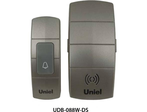 Звонок беспроводной Uniel UDB-088W-R1T1-32S-100M-DS