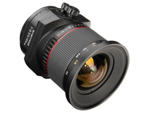 Объектив Samyang 24mm f/3.5 AS ED UMC Nikon F
