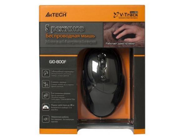 Мышь A4 TECH G10-800F Black USB