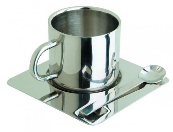 Чайная пара Regent Inox Coppa 93-DE-CO-02-180