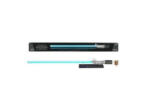 Световой меч Hasbro Luke Skywalker Force FX lightsaber removable blade