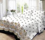 Постельное белье Нордтекс Нежность 1,5 спальное, поплин