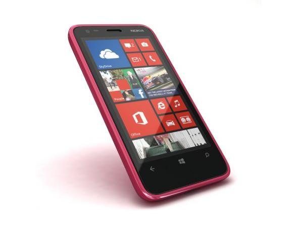 Смартфон Nokia Lumia 620 Magenta