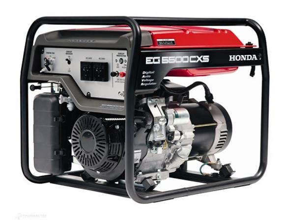 Бензогенератор HONDA EG 5500 CXS