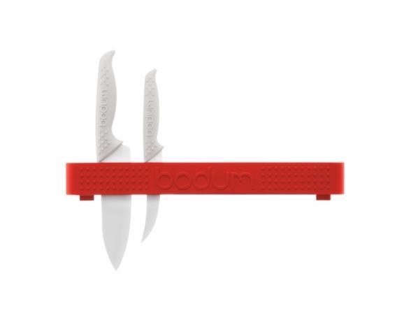 Держатель для ножей BODUM Bistro настенный, красный