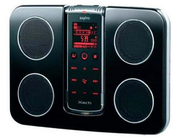 Диктофон Sanyo ICR-XPS01MF