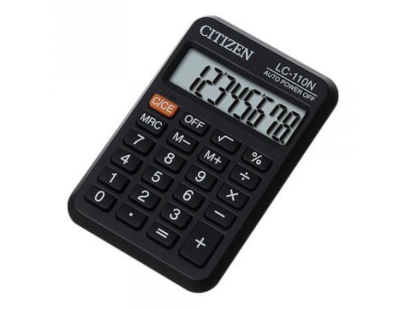 Калькулятор CITIZEN LC-110N карманный