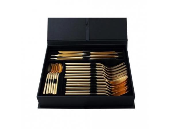 Набор столовых приборов HERDMAR DESIRE OLD GOLD 24 пр. 15830241600E14