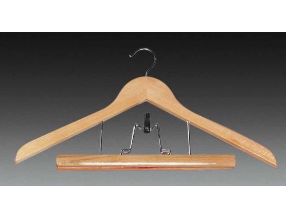Вешалка комбинированная для одежды и брюк Kesper 1624-0
