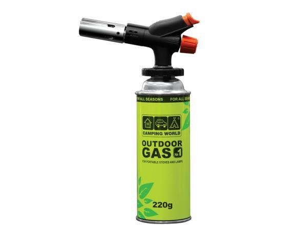 Лампа паяльная газовая Camping World Master 381896