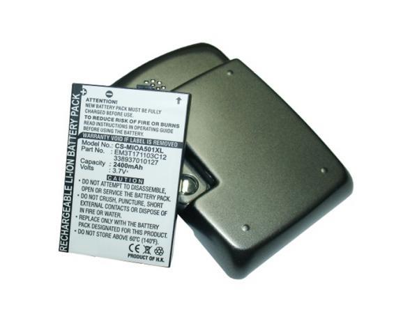 Аккумулятор Mitac для Mitac Mio A501/A502
