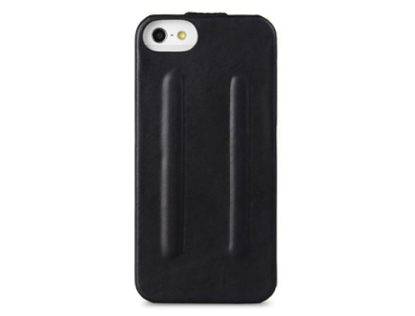 Чехол Melkco Premium Leather Case for Aplle iPhone 5  - Craft Limited Edition-Prime Twin (Black Wax Leather)