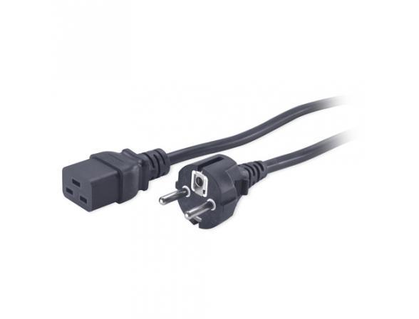 Силовой кабель APC Pwr Cord 16A 230V C19 to Schuko rec