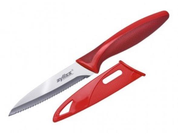 Нож зазубренный в чехле DKB E72401