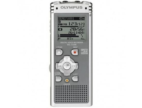 Диктофон Olympus WS-750M Grey [N2285721]