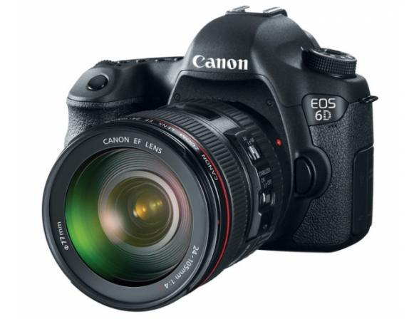 Зеркальный фотоаппарат Canon EOS 6D Kit 24-105  IS USM (WG) Wi-Fi, GPS