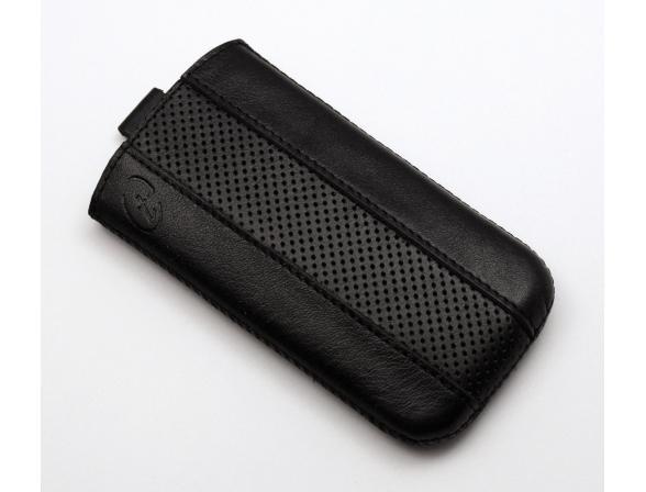 Чехол Time с ремешком комбинированный HTC Sensation XL черный с черным