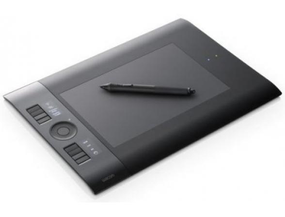 Графический планшет Wacom PTK-540WL-RU Intuos4 Wireless