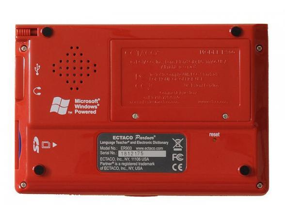 Переводчик Ectaco Partner ER-900 красный