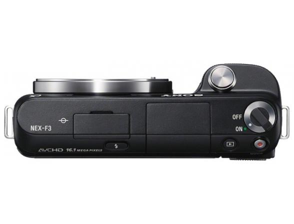 Цифровой фотоаппарат Sony Alpha NEX-F3A Kit 16mm black