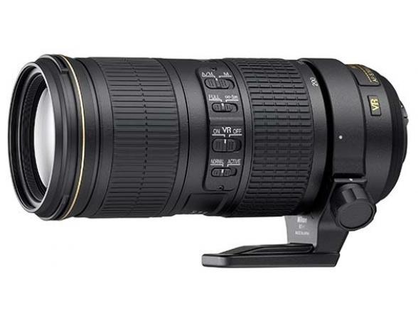 Объектив Nikon 70–200mm f/4G ED VR AF-S