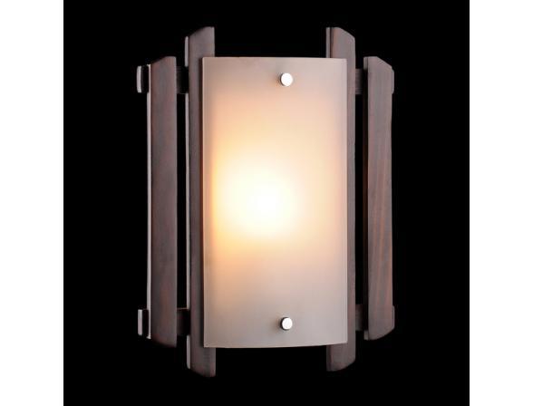Светильник настенно-потолочный Eurosvet 2717/1 темное дерево