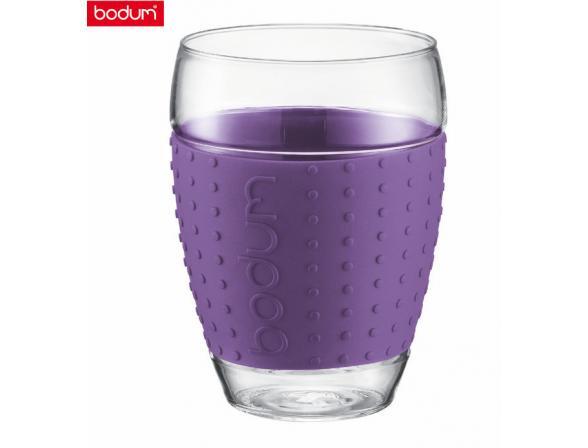 Набор бокалов BODUM PAVINA 2шт. 0.45л фиолет
