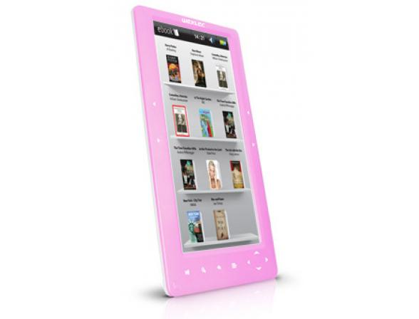 Электронная книга Wexler Book T7002 розовая