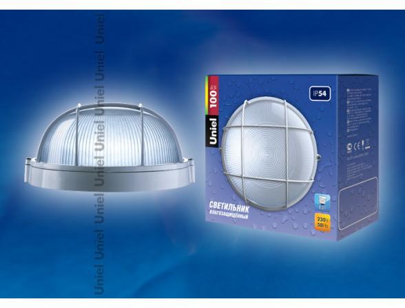 Светильник пылевлагозащищенный Uniel UWL-R-02-100-White