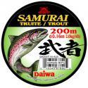 Монолеска Daiwa SAMURAI TROUT 0,20 - 200 M