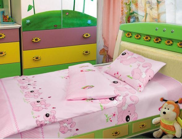 Комплект постельного белья Нордтекс Облачко (сатин-люкс)