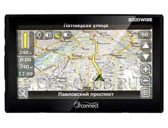 GPS-навигатор JJ-Connect AutoNavigator 6000 Wide