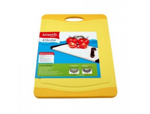 Кухонная доска антибактериальная MICROBAN FLUTTO 37x25см F-M-Y