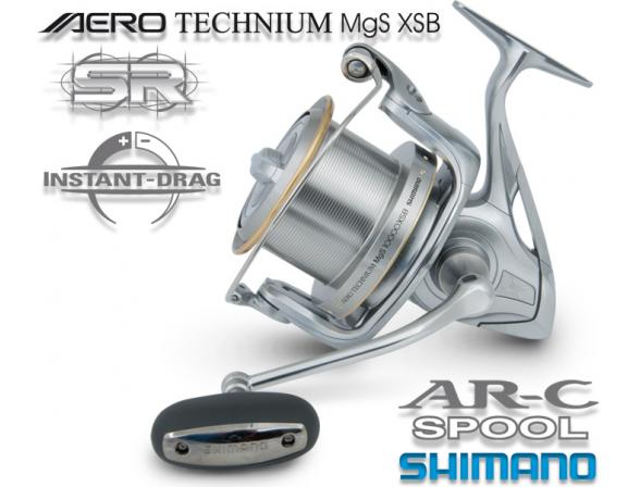 Катушка с передним фрикционом Shimano AERO TECHNIUM 10000 XSB MAGNESIUM